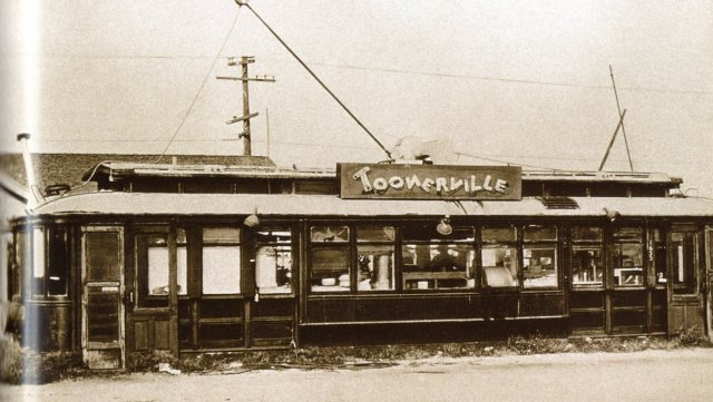 Toonerville Trolley, 1635 W. Manchester, Los Angeles, circa 1926