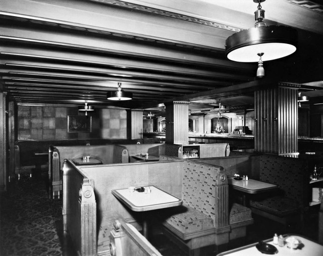 Biltmore Hotel, Grill and Bar, 1949