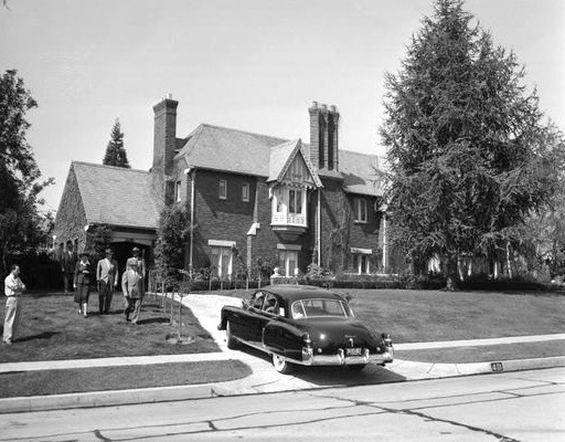 Nat King Cole's house, 401 South Muirfield Rd, Hancock Park, Los Angeles