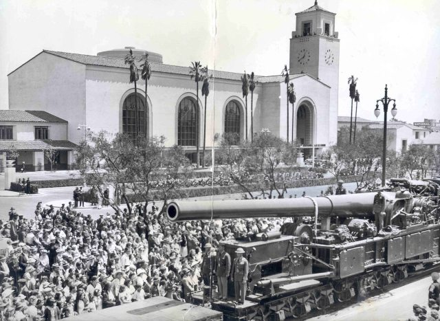 Opening day parade for Union Station, Los Angeles, May 4, 1939