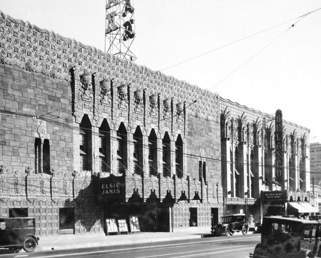 Mayan Theater, 1038 South Hill St, Los Angeles, 1927