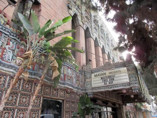 Mayan Theater, Hill St, Los Angeles, JAN2018