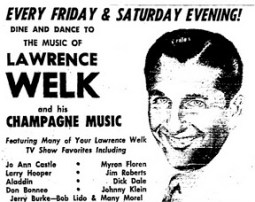 Lawrence Welk at the Hollywood Palladium