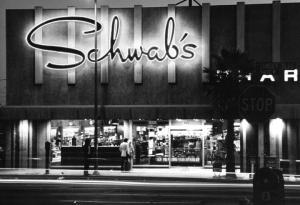 Another of Schwab's locations, 1960