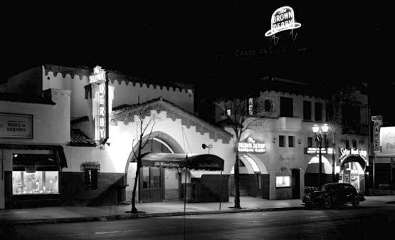 The Vine Street Brown Derby, Hollywood, 1944