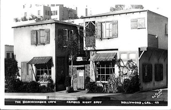 Don the Beachcomber, North McCadden Place, Hollywood