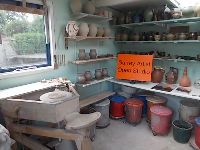 Martin Tyler Pottery Studio