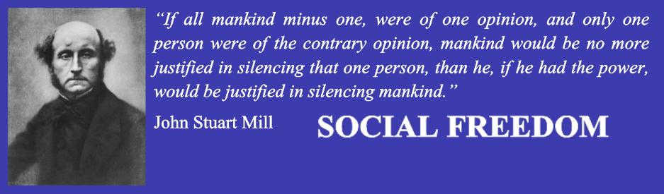 Social Freedom banner