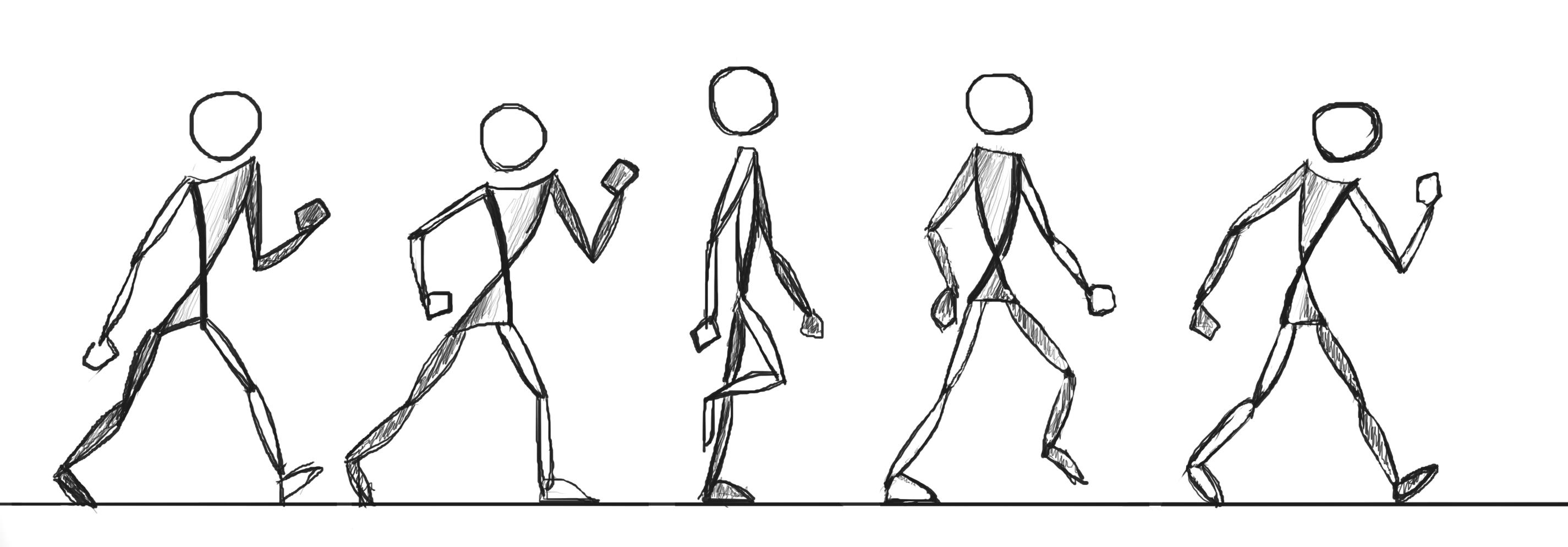 Walking Animation Frames