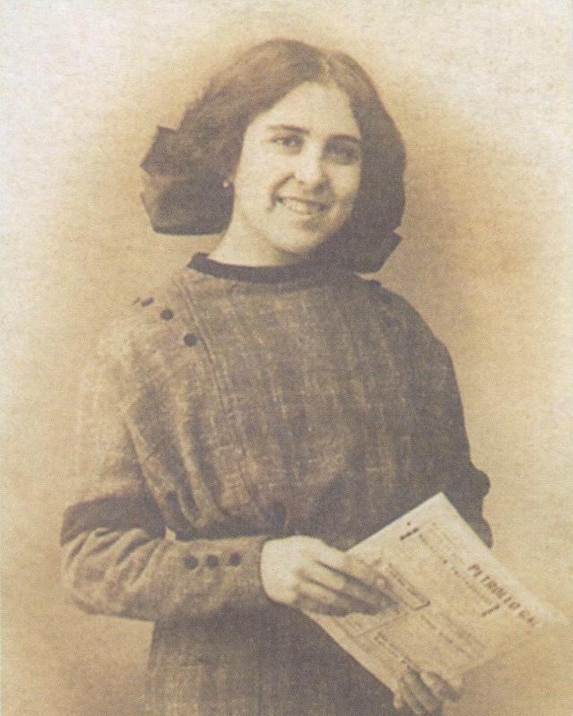La beata María de los Ángeles Ginard en 1914, foto de preguntasantoral.es