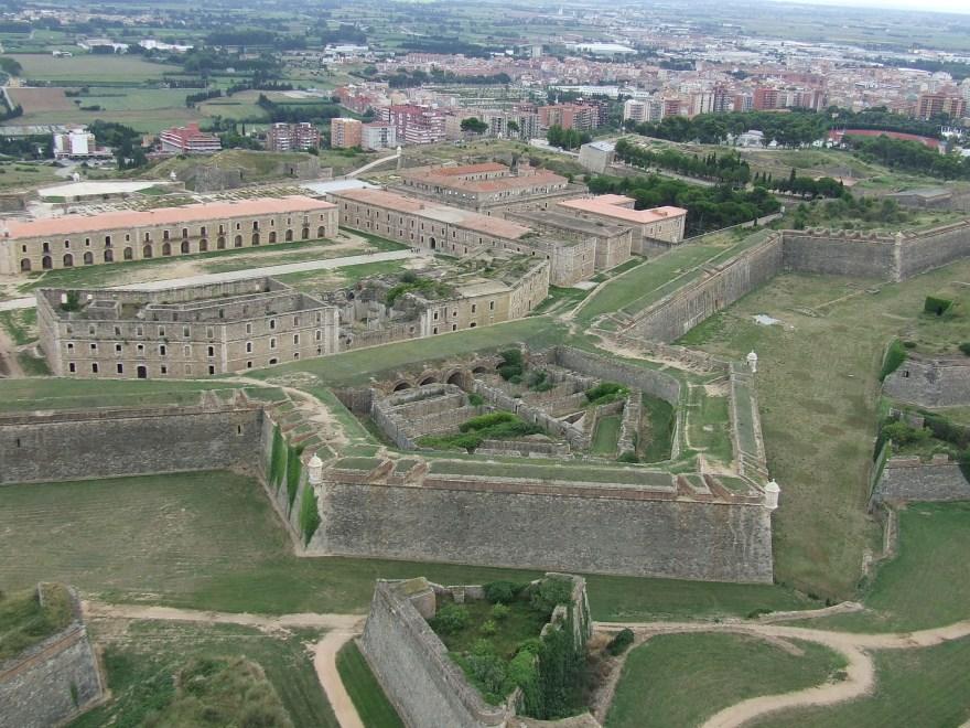 Castillo de San Fernando, en Figueras.