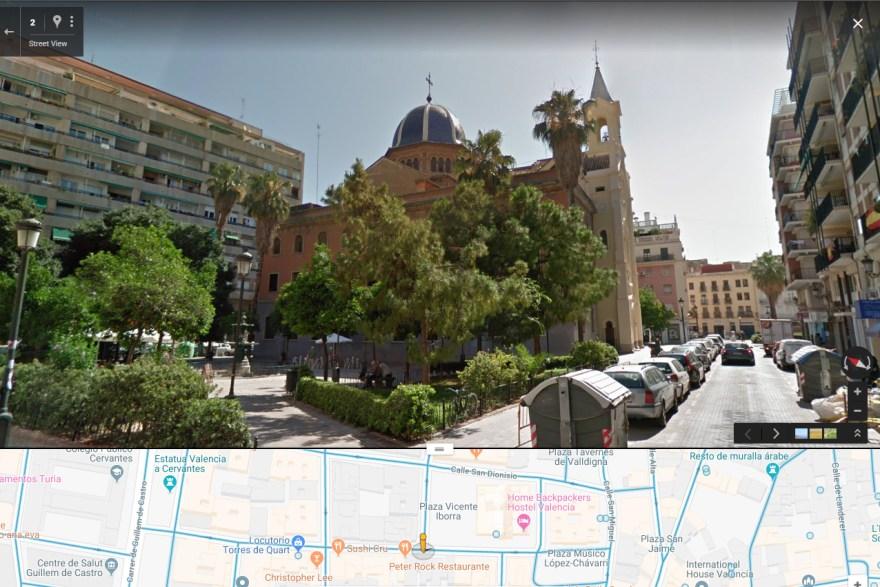 Parroquia de Nuestra Señora del Puig en Valencia.