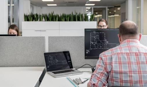 De ideale werkplek op kantoor image