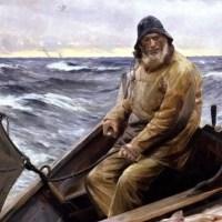 Bătrânul Ianis pescarul şi bărcuţa