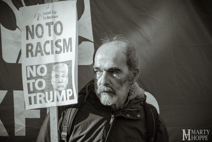Oxford Trump Protest