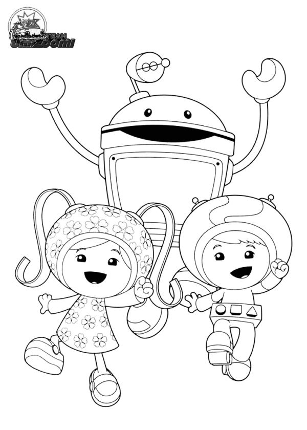Kleurplaten Van Team Umizoomi.20 Team Seven Coloring Pages Ideas And Designs