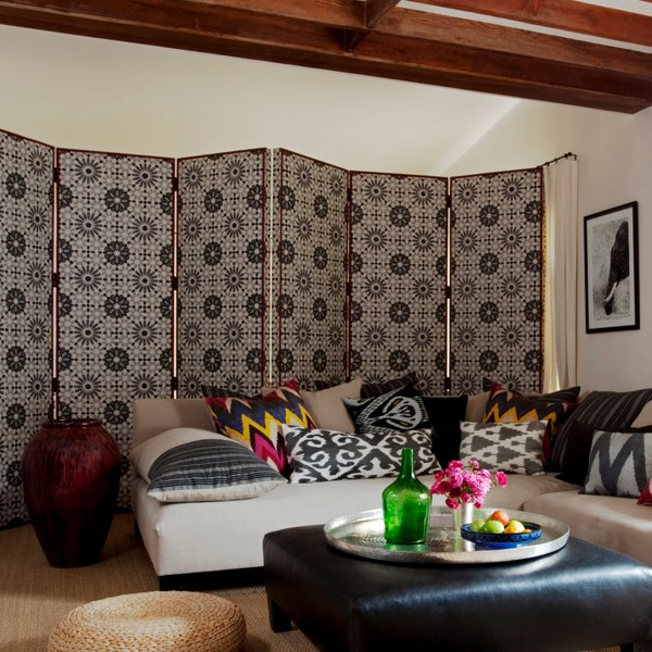 Marrakesh baltic grey indoor fabric by Martyn Lawrence Bullard