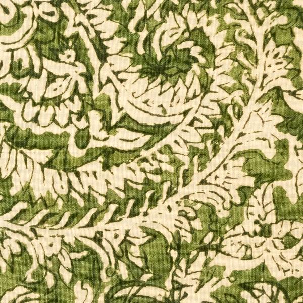 Taman Paisley green indoor fabric by Martyn Lawrence Bullard