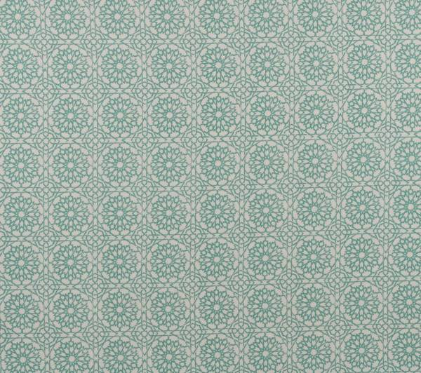 Mamounia Petite sky Indoor fabric by Martyn Lawrence Bullard