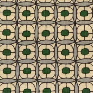 Theodore evergreen indoor fabric by Martyn Lawrence Bullard