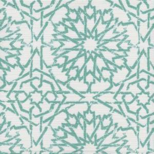Mamounia Petite sky Outdoor fabric by Martyn Lawrence Bullard