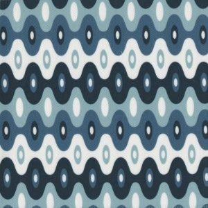 Kubla Mini ocean outdoor fabric by Martyn Lawrence Bullard