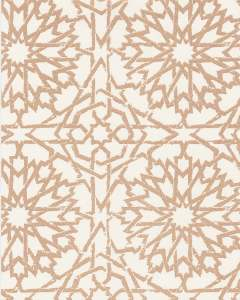 Mamounia Petite metallic gold wallpaper by Martyn Lawrence Bullard
