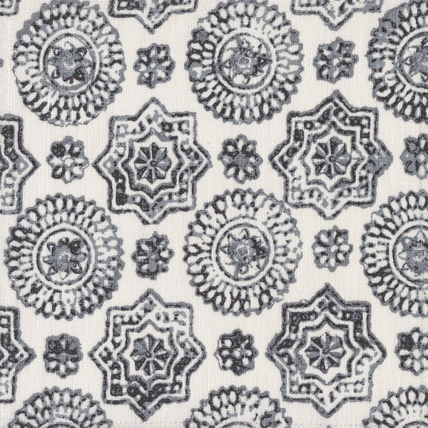 Kuratha baltic grey indoor fabric by Martyn Lawrence Bullard