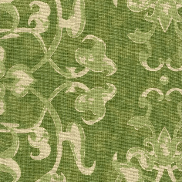 Ottoman Trellis peridot indoor fabric by Martyn Lawrence Bullard