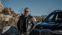 The new BMW X7, introduced by Martyn Lawrence Bullard
