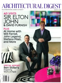 Architectural Digest Elton John designed by Martyn Lawrence Bullard