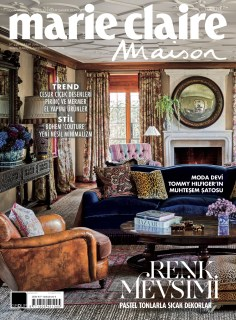 Marie Claire Maison in Turkey shows Tomy Hilfiger's Connecticut Hme by Martyn Lawrence Bullard