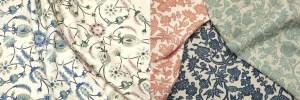 New indoor fabrics from renowned designer Martyn Lawrence Bullard.