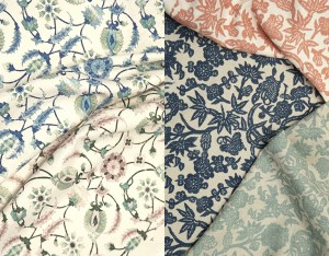 New linen indoor fabrics from renowned designer Martyn Lawrence Bullard.