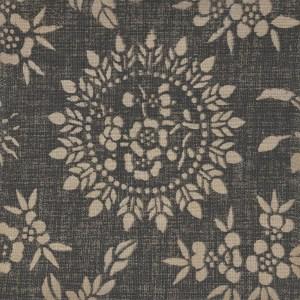 Sumatra Charcoal 100% linen indoor fabric by Martyn Lawrence Bullard.