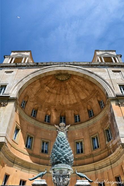 Building in Vatican Garden