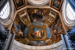 Another ceiling in Vatican Museum