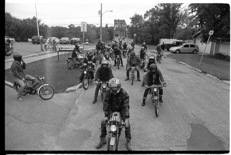 Winnipeg Moped Rally