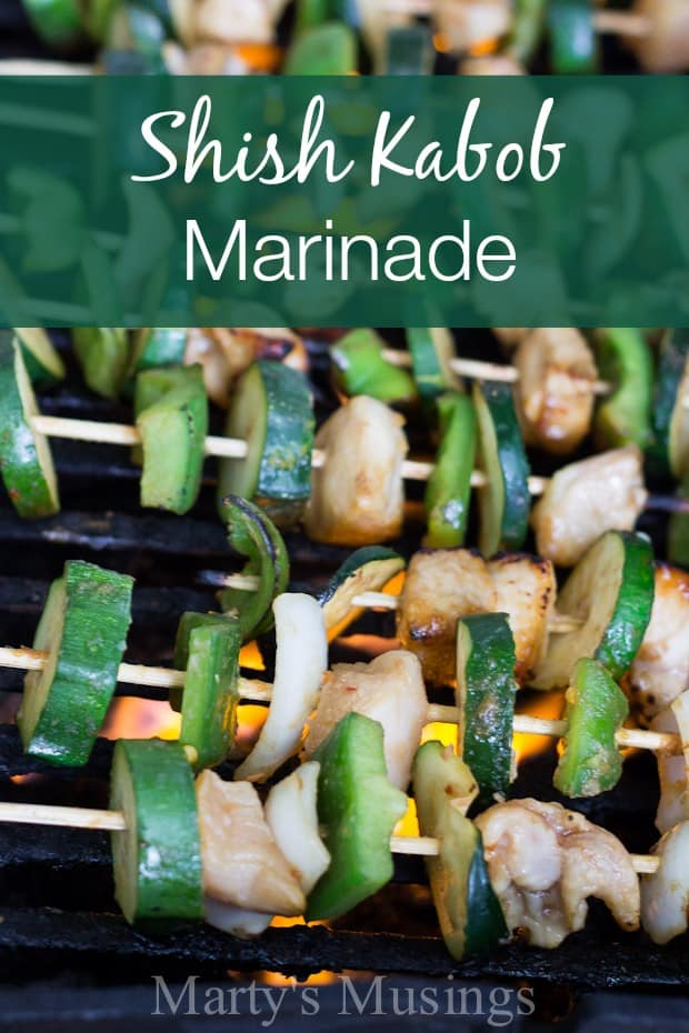 Chicken Shish Kabob Marinade - Marty's Musings