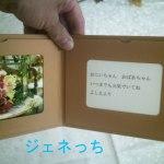 日比谷花壇、2012年の敬老の日である9月17日当日指定届くための注文が本日までとなってます。