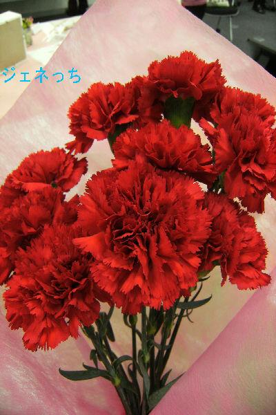カーネーションの花束400×600