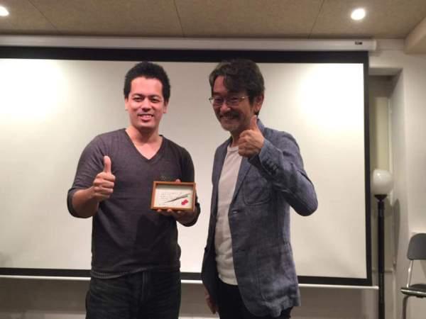 藤村先生(スコット)とツーショット