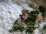 ADD SEASONING AND CURD AND MIX WELL