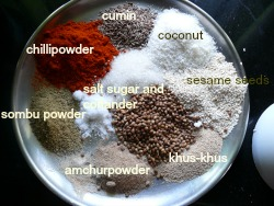 ALL THE FILLING INGREDIENTS