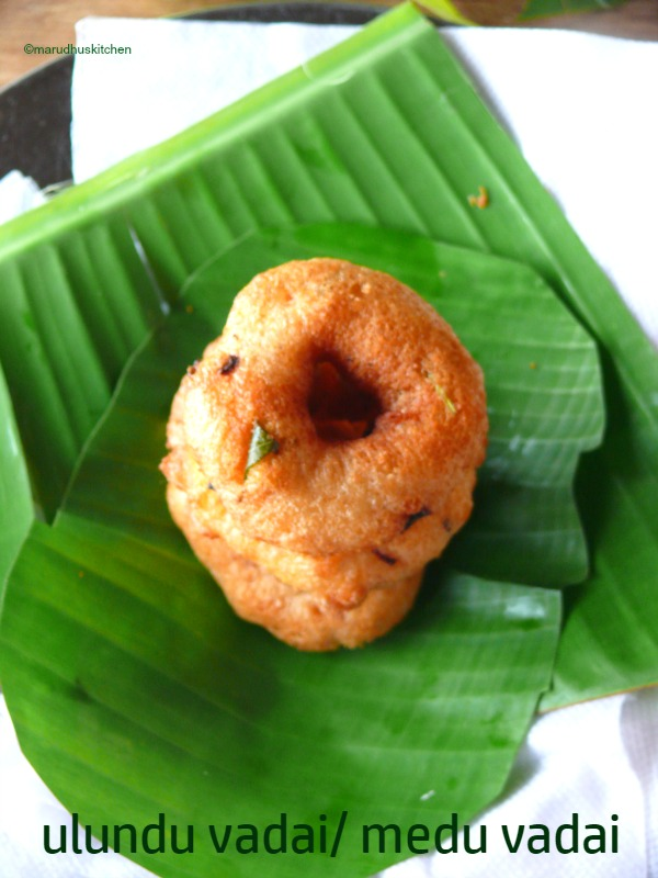 south indian ulundu vadai recipe /medu vadai