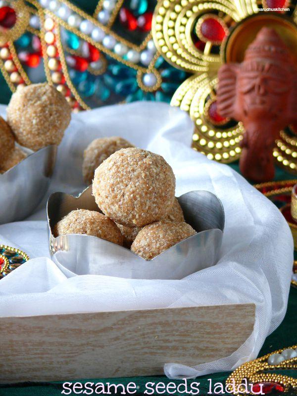 roasted sesame  seeds laddu(til/ellu ladoo)