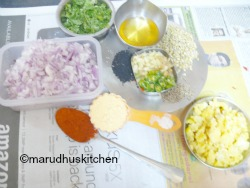 READY WITH INGREDIENTS