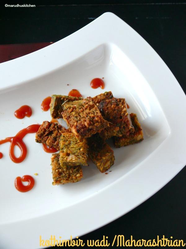 recipe for kothimbir wadi