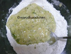 MIX BOTH WET AND DRY INGREDIENTS