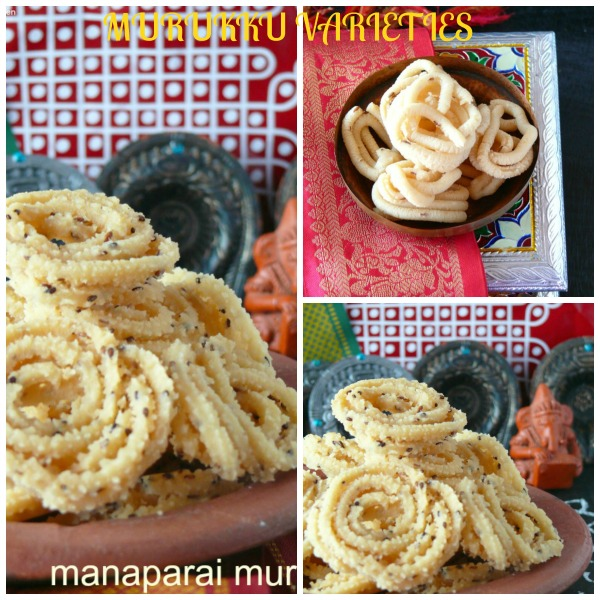 south indian murukku varieties for diwali /deepavali